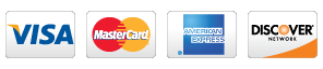 Payment by Major Credit Cards