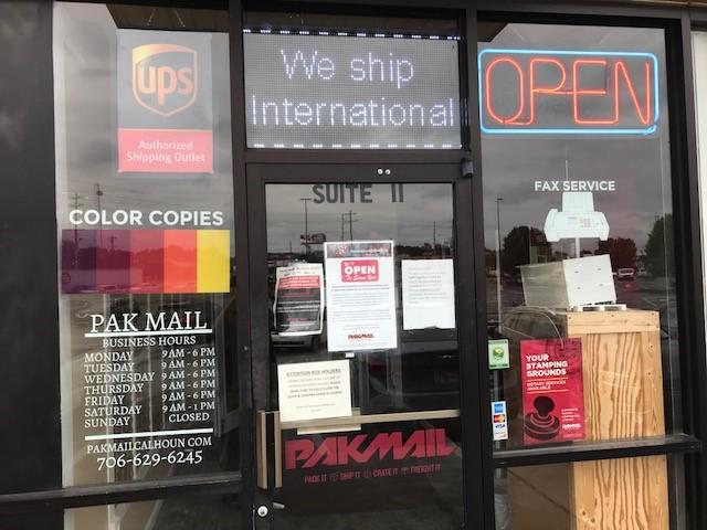 Pak Mail Calhoun-Location